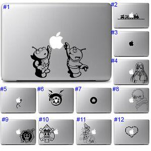 Apple Macbook Pro Air 13 15 Sticker Decal Cool Anime Cute Fun Graphics Laptop