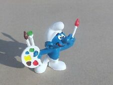 2.0089 schtroumpf peintre Smurf schlumpf Pitufo Puffo  maler w germany