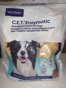 CET Enzymatic Oral Hygiene Chews for Medium 26-50 Pounds 30ct EXP. 01/2023