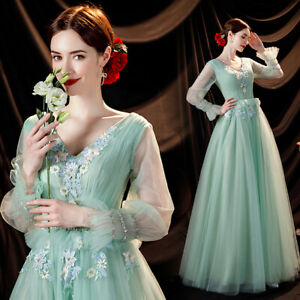 Noble Evening Formal Party Cocktail Ball Gown Prom Host  Acting Dress TSJY17920