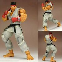 Play Arts Kai Super Street Fighter IV Ryu PVC Action Figure Statue New In Box
