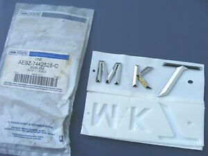 NEW Ford Lincoln AE9Z-7442528-C MKT liftgate emblem 10 11 12 13 14 15 16 17 18
