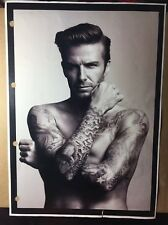 David Beckham Bodywear H&M 12x8 Promotional Ad Set Guide Page
