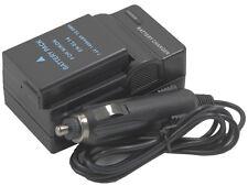 new Battery with Charger EN-EL14 for D3100 D3200 D5100 D5200 D5300 P7800 ENEL14