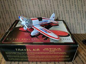 Liberty Classics Pepsi Express Die cast bank 1929 Travel Air Model R