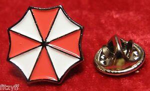 Umbrella Resident Evil Corporation Pin Badge Brooch