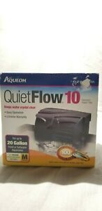 Aqueon QuietFlow 10 Power Aquarium Water Filter Pump Fish Tank 100 gallon per hr