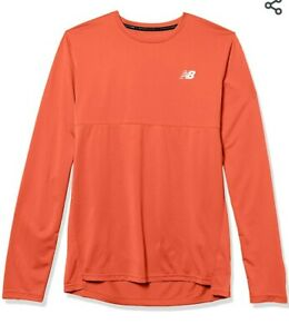 New Balance Mens Accelerate Long Sleeve Top Size Small New With Tags