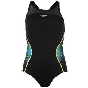 Ladies SPEEDO Fit Pinnacle Performance Swimsuit - Mesh Bust Support Endurance+
