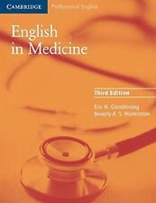 Anglais en Medicine: A Course In Communication Skills : Course Livre (3rd Ed Par