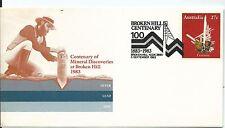 1983 Broken Hill Centenary 5 Sept Special Postmark Pictor Marks No Pm 1066 (2)