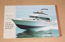 1990 Silverton Boats Sales Brochure