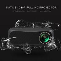 EUG LED Native 1080P Heimkino Projektor Beamer 4K Videospiele TV HDMI 8500LMS DE