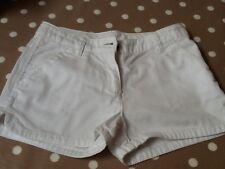 girls white denim shorts age 9 years from next.