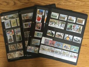 Collection mint unmounted GB stamps 29 sets