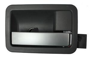 New Dark Gray & Silver Inside Door Handle RH F=R / FOR LISTED DURANGO & ASPEN