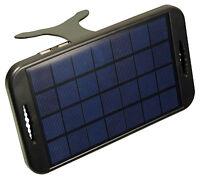 Portable Solar 2x USB Charger 5V 2W Output 3W Solar Cell Camel Powerplus