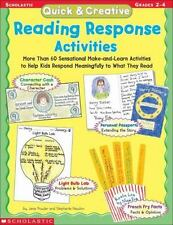 Quick and Creative Reading Response Activities : More Than 60 Sensational...