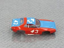 Aurora Afx Plymouth Roadrunner 43 Red/Blue Body Only Nice & Clean All Original