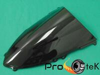 Ducati 899 1199 Panigale S R ABS Smoke Black Double Bubble Windscreen Windshield