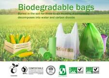 Biodegradable Compostable Trash Food Garbage Caddy Bin Liners Bags 18L 45x50cm