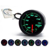"2"" 52mm Universal  7 Colors LED Car Water Coolant Temperature Temp Gauge Meter"