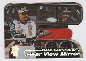 Dale Earnhardt Rear View Mirror Expl Die-Cut 2000 Press Pass VIP NASCAR Card RV3