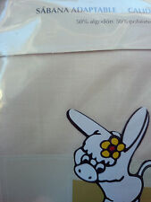 Burrito Blanco sabana bajera 90 105 135 150 180 200 blanca, beig, celeste,...