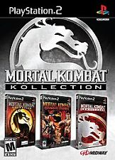 Mortal Kombat Kollection (Deception, Armageddon, Shaolin Monks) - PlayStation 2