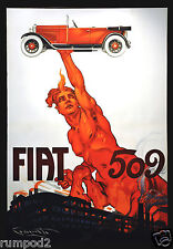 Car Poster - Classic/Vintage - Fiat 509 Poster