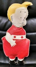Vintage Antique Comic Skeezix Oil Cloth Doll, 1925, SIGNED by Frank King! Ex!