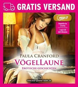 VögelLaune | Erotisches Hörbuch als MP3CD von Paula Cranford