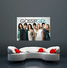 GOSSIP GIRL CAST CHARACTERS TEEN DRAMA TELEVISION GIANT ART POSTER PRINT  WA485