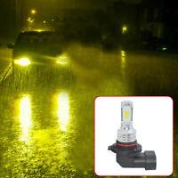 9006 HB4 LED Fog Lights Conversion Bulbs Kit 80W 1000LM 4300K.Yellow Error Free