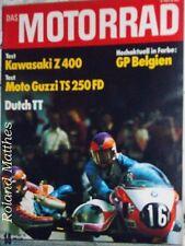 DAS MOTORRAD 14-76+KAWASAKI Z 400+MOTO GUZZI TS 250 FD+EGLI-YAMAHA TZ 250+YAPOL