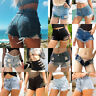 Sexy Women Mini Hot Pants Jeans Shorts Denim Seaside Low Waist Micro Shorts New