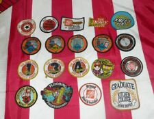 Used Home Depot patches - Service Award, Merit Award, Proud Stockholder