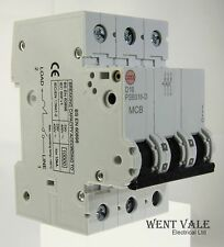 Wylex PSB316-D - 16a Type D Triple Pole MCB Latest Model Un-used