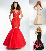 Mermaid Lace Party/Evening/Prom/Cocktail/Pageant Dresses/Formal Dance Ball gown