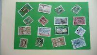 9958    -  timbres avec étampe de ville