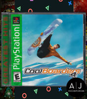 Cool Boarders 4 (Sony PlayStation 1, 1999) PS1 Complete