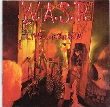 W.A.S.P. – Live... In The Raw (CD, 4 bonus tracks, Russia-Soyuz)-FREE SHIPPING