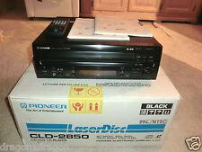 PIONEER cld-2850 LASER DISC-Player, completamente in SCATOLA ORIGINALE, PAL/NTSC, 2 ANNI GARANZIA