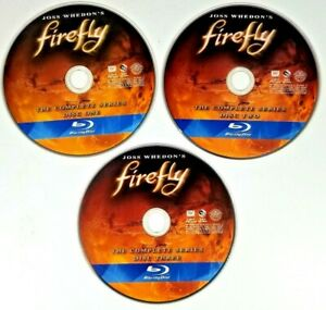 Firefly: The Complete Series DVD Allan Kroeker(DIR) 2002 Blu-ray Disc(Disc Only)