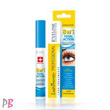 EVELINE 8IN1 EYELASH SERUM TOTAL ACTION CONDITIONER MASCARA BASE PRIMER LASHES