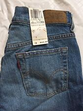 Levi's 515 Size 4M Misses Bootcut Stretch Regular Fit Distressed NWT