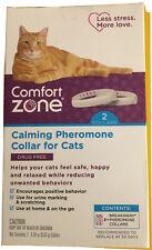 Comfort Zone Calming Pheromone Collar For Cats 2 Collars