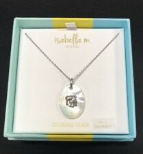 "Isabella M. Boston Sterling Silver Necklace w/Elephant Pendant  18"" ""NIB"""