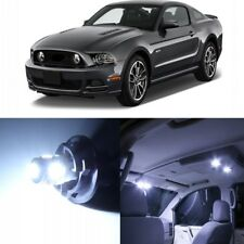 9 x White LED Interior Light Package For 2010 - 2014 Ford Mustang + PRY TOOL