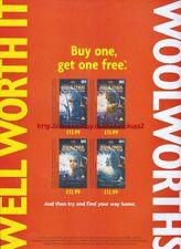 "Star Trek Deep Space Nine ""Woolworths"" 1999 Magazine Advert #4496"